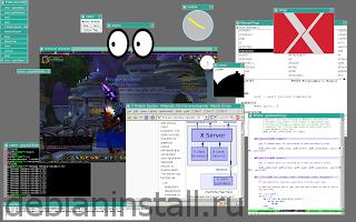 Запуск X Window System Linux